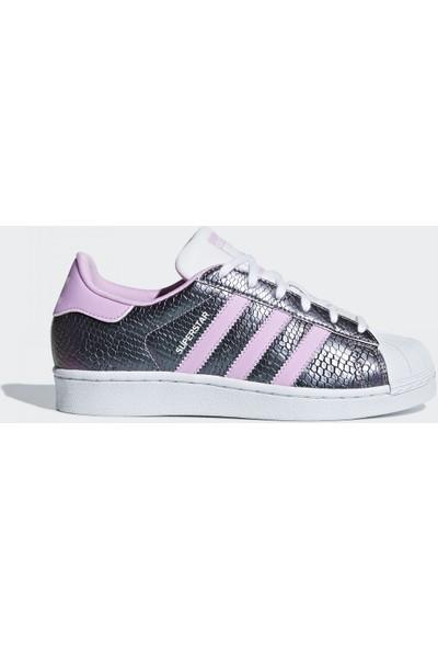 Adidas B37184 Superstar J Çocuk Günlük Ayakkabı