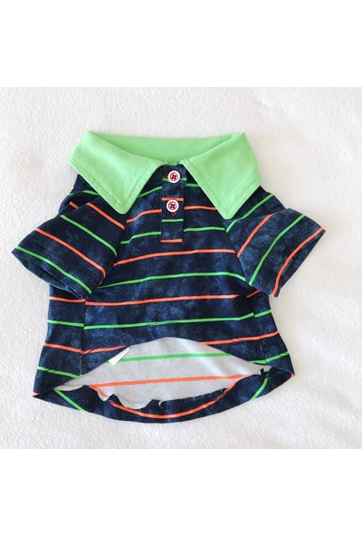 Kemique Party Time Neo Polo Yaka Tişört By Kedi Elbisesi