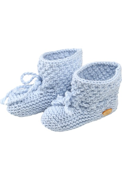Pacco Baby Mavi Pirinç Patik