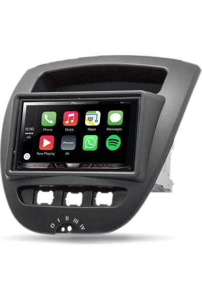 Pioneer Citroen CPeugeot 107 Apple Carplay Android Auto Multimedya Sistemi 7 İnç