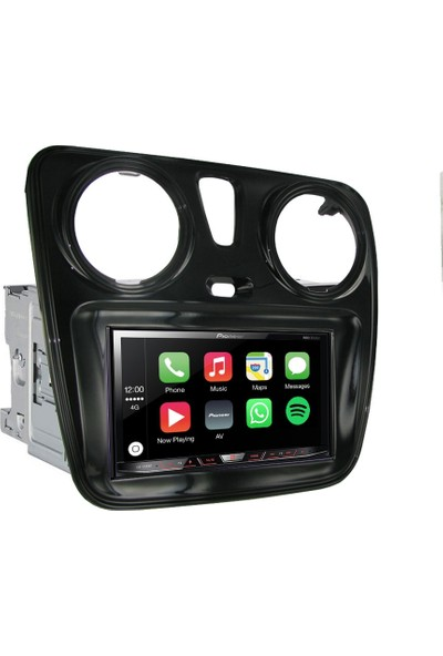 Pioneer Dacia Lodgy Dokker Apple Carplay Android Auto Multimedya Sistemi 7 İnç