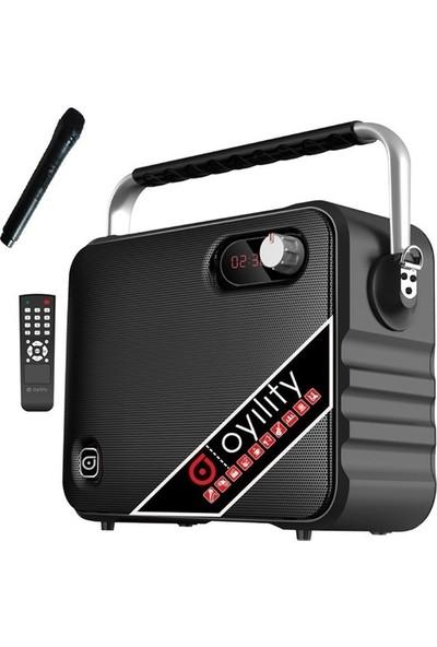 "Oyility T-6 6,5"" 40 Watt Kablosuz El Mikrofonlu Taşınabilir Şarjlı Ses Sistemi"