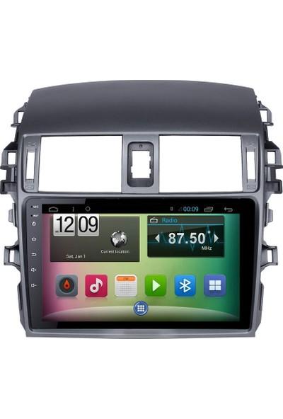Mixtech Corolla Android Navigasyon Ve Multimedya Sistemi 9 İnç Double Teyp