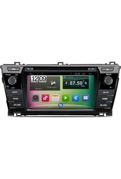 Mixtech Corolla Android Navigasyon Ve Multimedya Sistemi 7 İnç Double Teyp