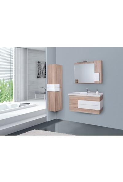 Lineart Talya 100Cm Banyo Dolabı