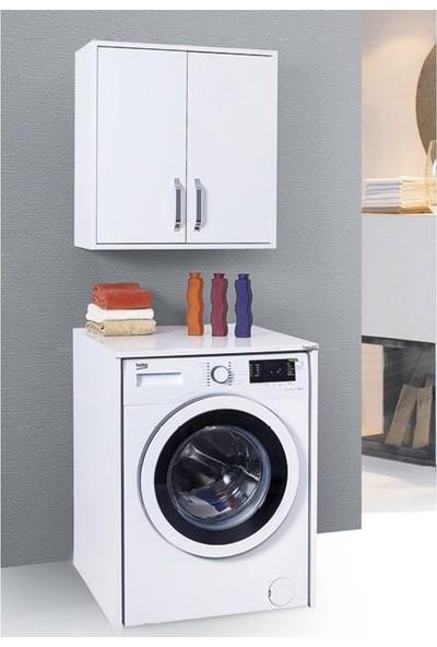 Lineart Yakut Kapaksız Çamaşır Makine Dolabı