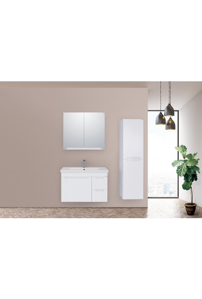 Lineart Enjoy 830 80Cm Banyo Dolabı