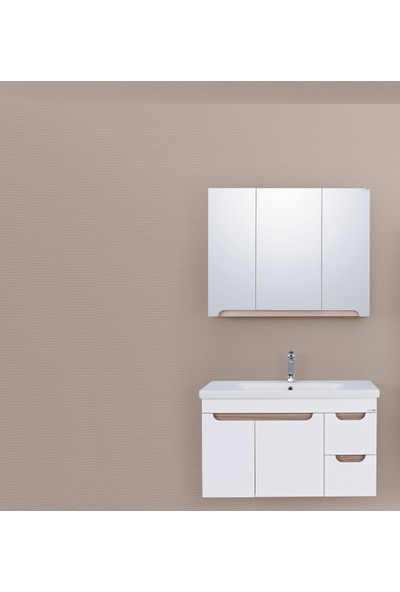 Lineart Enjoy 930 90Cm Banyo Dolabı