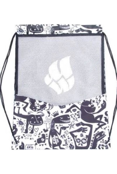 Mad Wave Yüzme Filesi, File Gym Bag, 45,5X38, Siyah