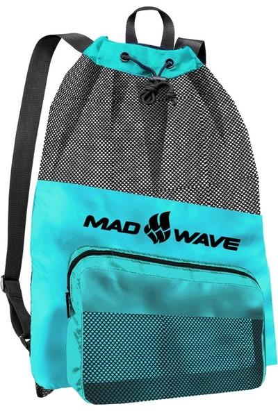 Mad Wave Yüzme Filesi File Çanta 65X48.5 Turkuaz