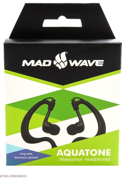 Mad Wave M1403 02 0 01W Waterproof Headphones Aquatone, 700