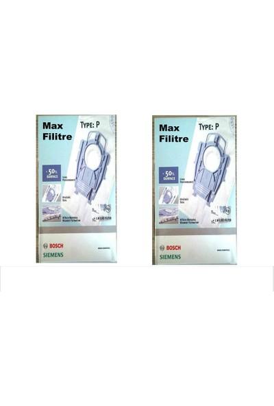 Bosch Siemens Elektrikli Süpürge P Tipi Toz Torbası 2 Paket