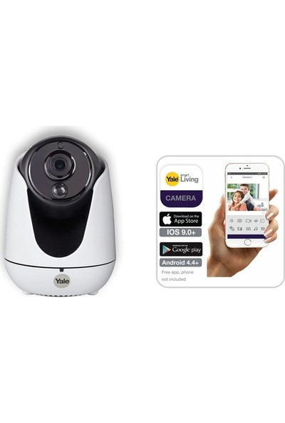 Yale Kaydırma, Eğme ve Yakınlaştırma Özellikli Home View IP Kamera