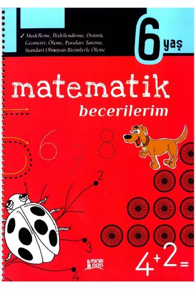 Minik Ada Yayınları Matematik Becerilerim 6 Yaş