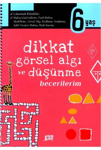 Minik Ada Yayınları Dikkat Görsel Algı Ve Düşünme Becerilerim 6 Yaş