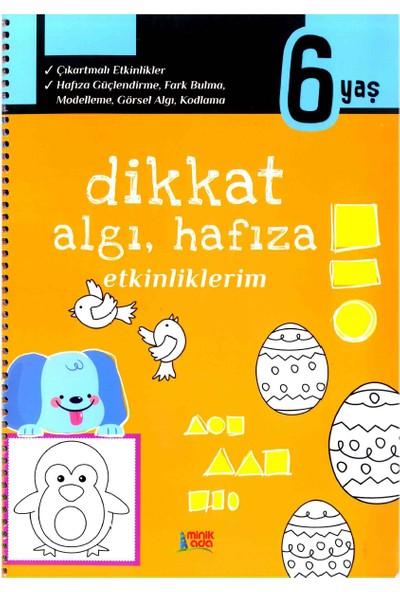 Minik Ada Yayınları Dikkat Algı Hafıza Etkinliklerim 6 Yaş