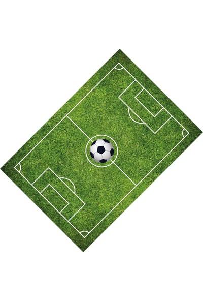 Cici Halı Futbol Sahalı Toplu Erkek Çocuk Odası Halısı-100x150
