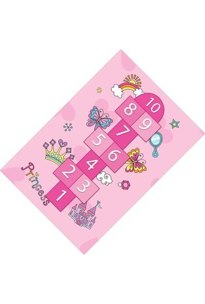 Cici Halı Sek Sek Kız Çocuk Odası Halısı-80x150