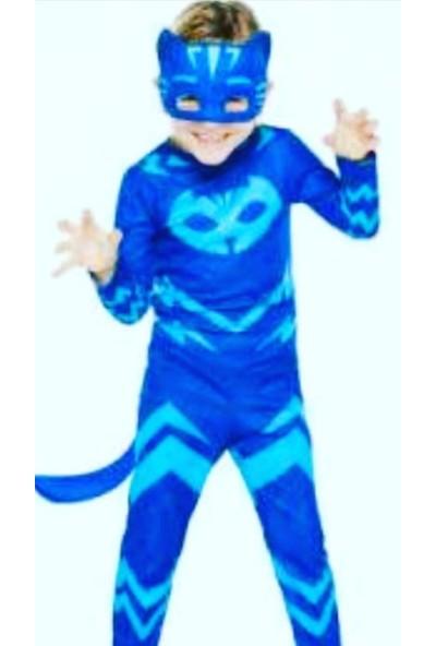 Tdy Desi̇gn Pijamaskeliler Kedi Çocuk Kostümü