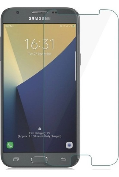 CoverZone Samsung Galaxy A6 Plus 2018 Temperli Ekran Koruyucu 3 Adet