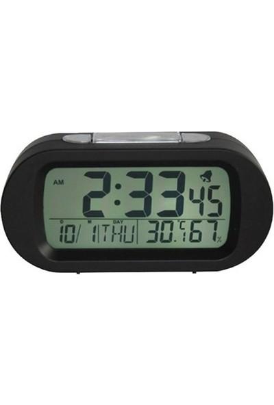 Goldmaster R-130 Alarmlı Saat Beyaz