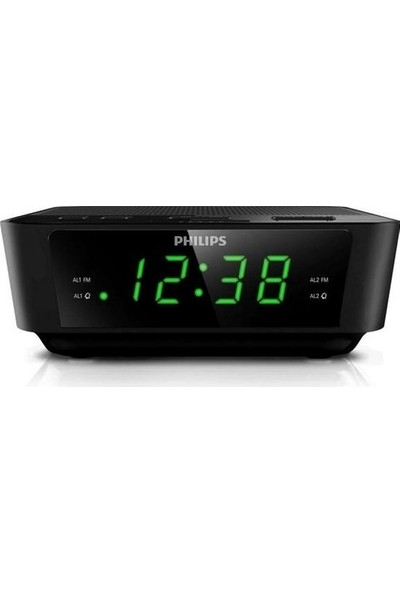 Philips AJ3116 Çift Alarm Saatli ve Digital FM Radyo