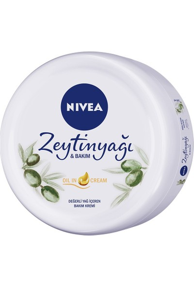 Nivea Zeytinyağı &Bakım Kremi 300Ml