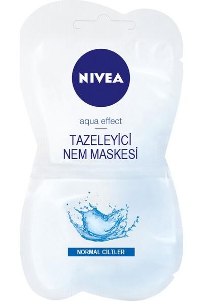 Nivea Canlandırıcı & Tazeleyici Yüz Maskesi 15Ml (7,5X2Ml)