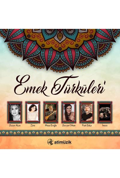 Çeşitli Sanatçılar - Emek Türküleri (Plak)