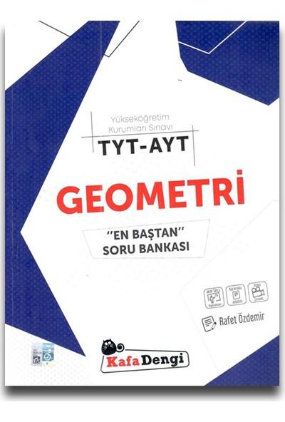 Kafa Dengi Yayınları TYT AYT Geometri Soru Bankası En Baştan Video Çözümlü - Rafet Özdemir