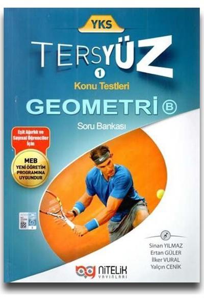 Nitelik Yayınları TYT - AYT Geometri B Tersyüz Soru Bankası