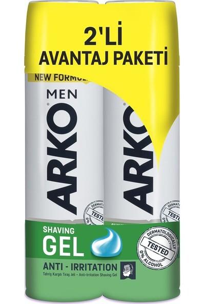 Arko Men Anti-Irritation Tıraş Jeli 200 ml 2'li set 2 X 200 ml