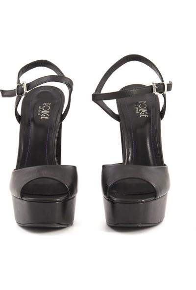 Rouge 181Rgk704 0306 Kadın Platform Topuk Ayakkabı