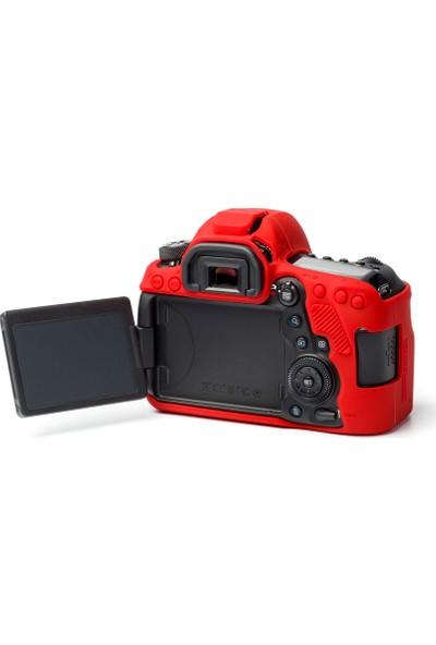 EasyCover Canon 6D Mark II Kılıf ECC6D2R (Kırmızı)