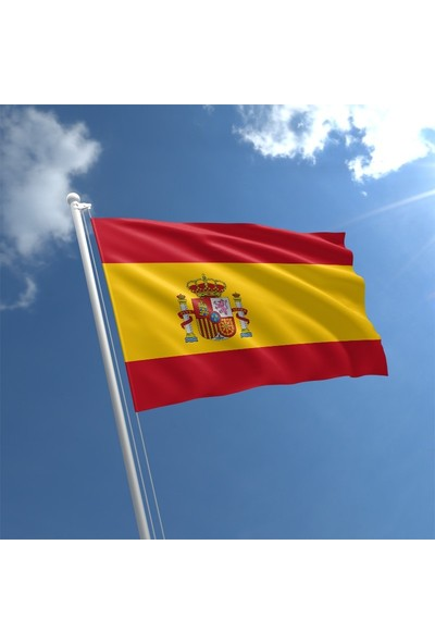 Gönder Bayrak İspanya Bayrağı 70 x 105 cm