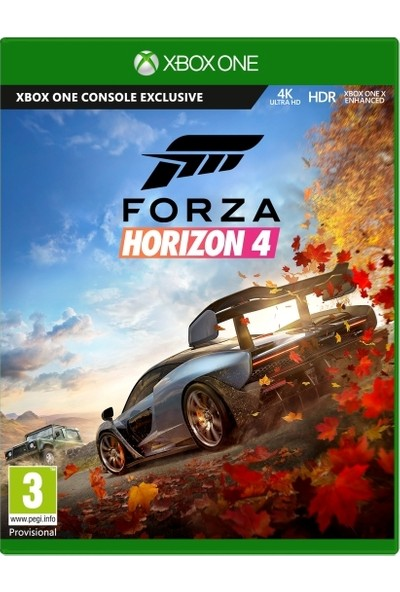 Microsoft Forza Horızon 4 Xbox One Oyun