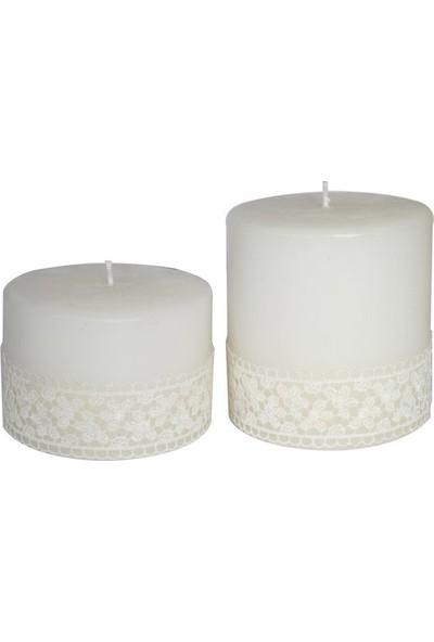 Pearl Candle Dekoratif Mum