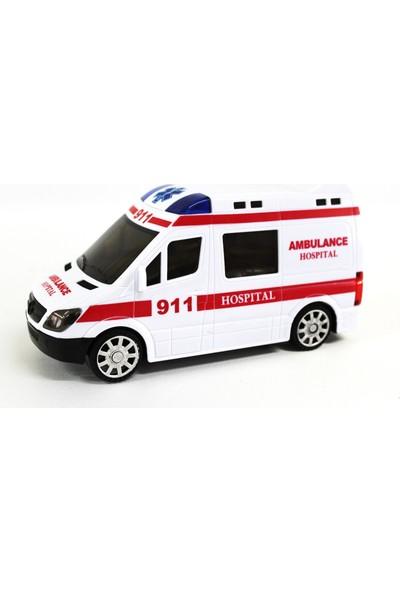 Vardem Ambulans Sesli Komple Işıklı Yerde Kendisi Gider 360 Dönebilme Özelliği
