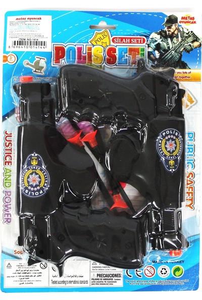 Metaş Polis Seti 2'li Ok Atan Silah