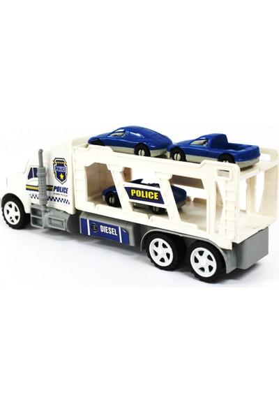 Nizam Oyuncak Polis Aracı Sürtmeli Tır Seti