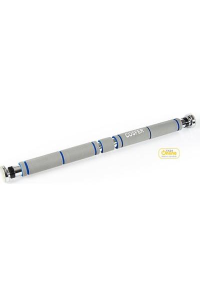 Cosfer CSF-5583 Süngerli Kapı Barfiksi 62-100 cm.
