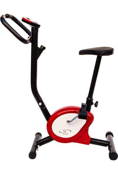 Cosfer CSF-01-K Dikey Kondisyon Bisikleti - Kırmızı