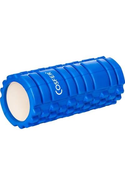 Cosfer CSF-56M Hollow Foam Roller - Mavi
