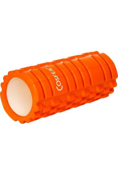 Cosfer CSF-56T Hollow Foam Roller - Turuncu