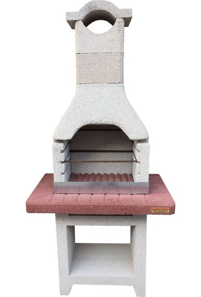 Barbekü Özkoca Bims Beton Barbekü 60'lık Dallas Model