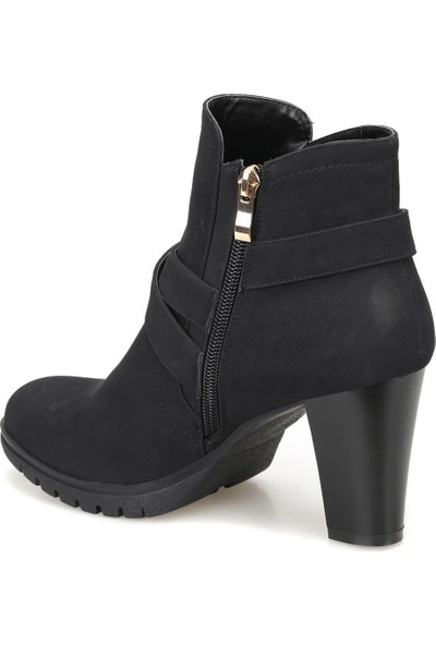 Miss F F15091-18K Siyah Kadın Ayakkabı