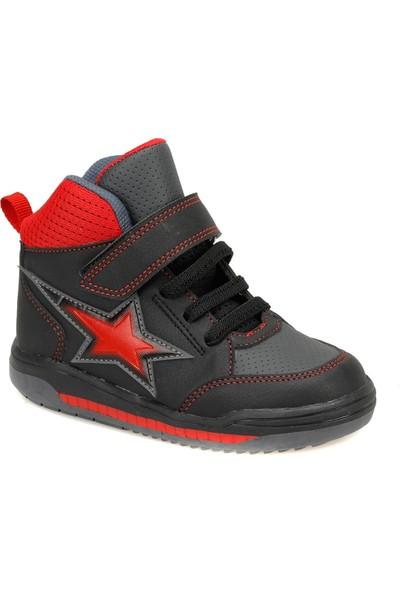 Yellow Kids Kırıza Siyah Erkek Çocuk Sneaker Ayakkabı