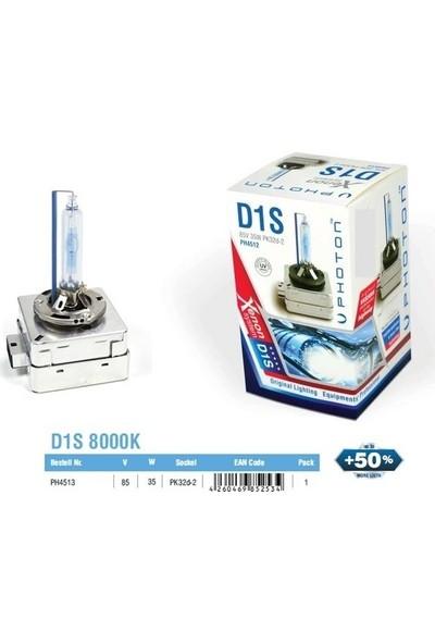 Photon D1S 8000K Xenon Ampül %50 Fazla Işık 2 Adet