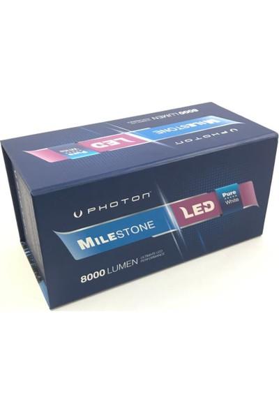 Photon Milestone H1 8000 Lumens Led Xenon +2 Plus