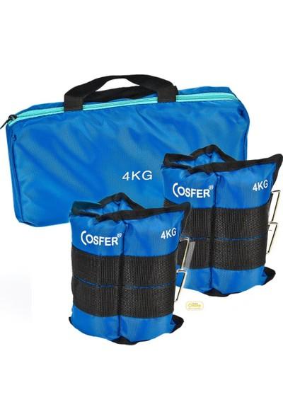 Cosfer CSF-4KG Ayak Ağırlığı 2 x 2 Ad. (4 kg.)
